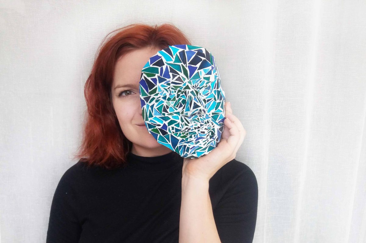 Åsamariahermansson_Glass mosaic mask_1