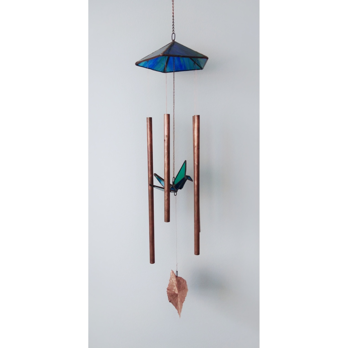 Åsa Maria Hermansson - Glass and metal art - Wind chime